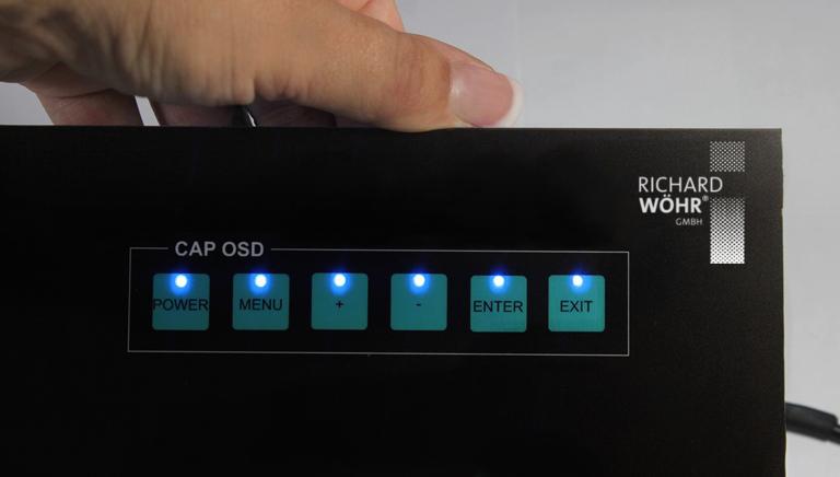Das neue kapazitive Eingabesystem CAPOSD von Wöhr