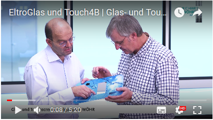 Glas- und Touchscreen-Fertigung bei WÖHR