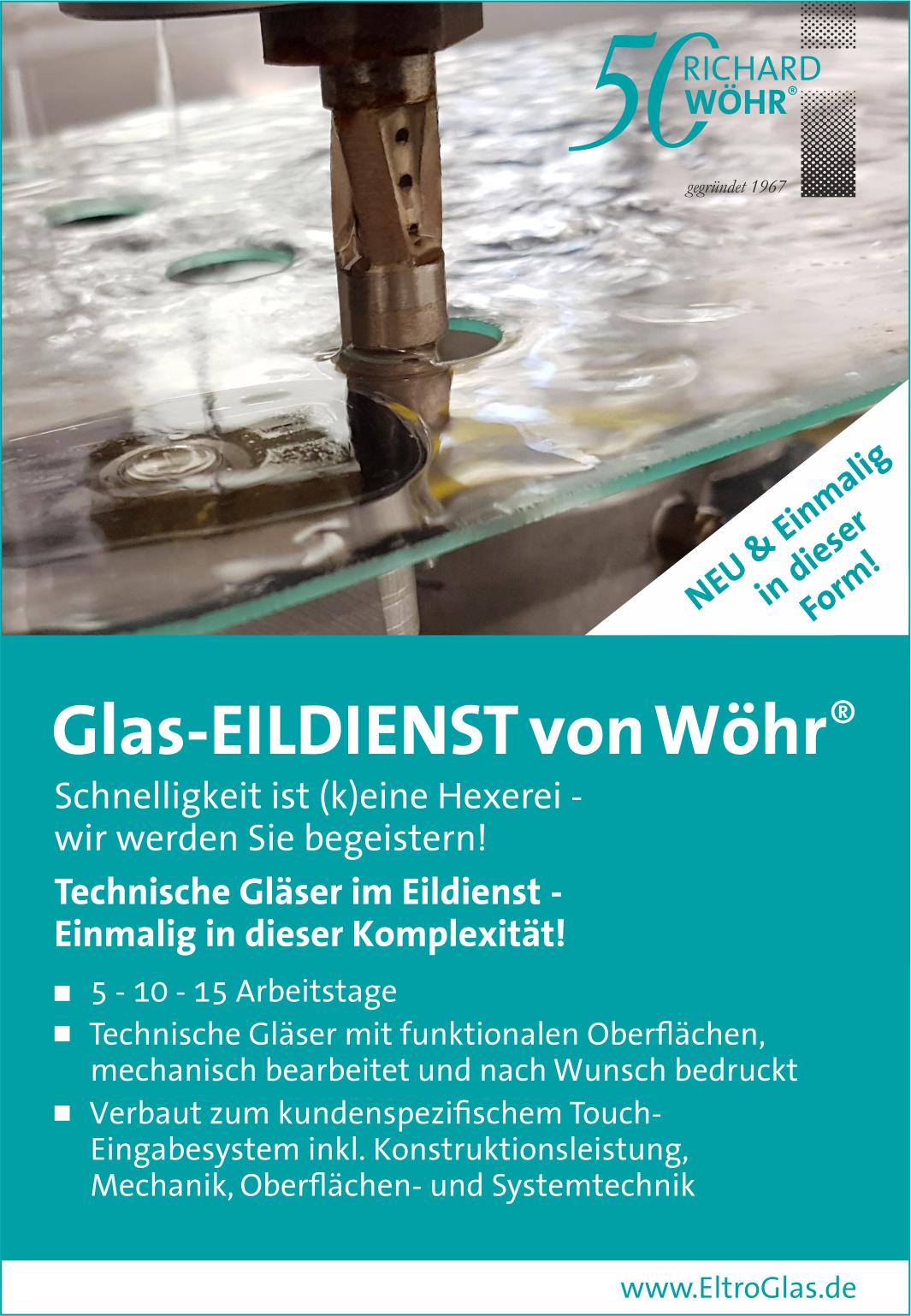 Glas-EILDIENST von Wöhr®