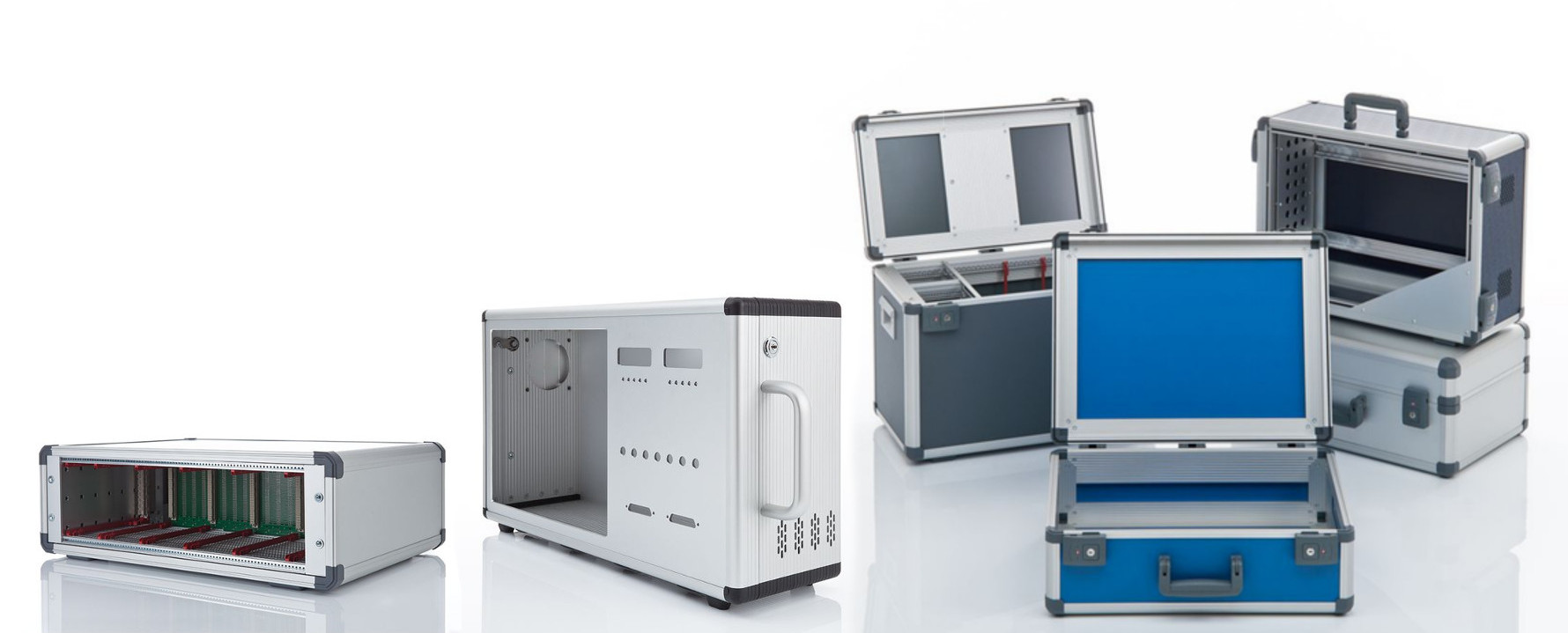 ALUNO - Alu Gehäuse für mobile Elektronik und Technik