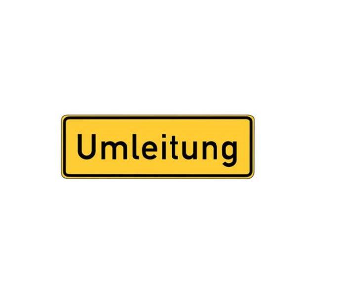 ACHTUNG: Erschwerte Zufahrt nach Höfen von Richtung Pforzheim kommend